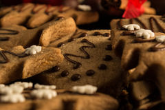 Christmas eve with cookies Royalty Free Stock Images