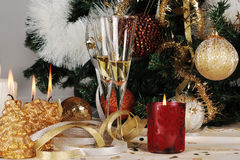 Christmas eve decor Stock Images