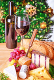 Christmas eve dinner Royalty Free Stock Photography