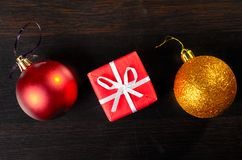 Christmas eve at office Stock Photography