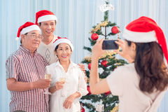 Christmas Eve picture Stock Image