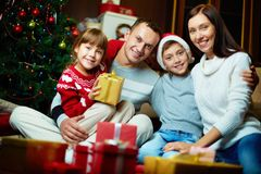 Christmas eve Royalty Free Stock Image