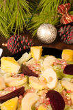 Christmas Eve Salad Royalty Free Stock Photo