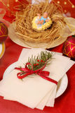 Christmas eve wafer Royalty Free Stock Photo