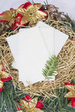 Christmas Eve wafer Royalty Free Stock Photos