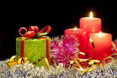 Christmas evening Royalty Free Stock Image
