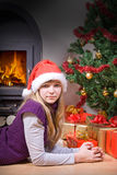 Christmas Evening Royalty Free Stock Photography