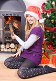 Christmas Evening Royalty Free Stock Image