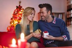 Christmas evening Stock Photo