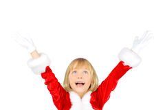 Christmas excitement Stock Photography