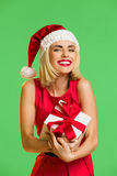 Christmas excitement Royalty Free Stock Image