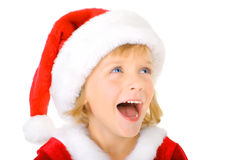 Christmas excitment Stock Photos