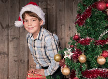 Christmas expectation Stock Image