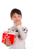 Christmas expectation Royalty Free Stock Photos