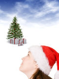 Christmas expectations Royalty Free Stock Photos