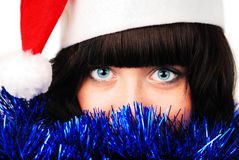 Christmas eyes Royalty Free Stock Images
