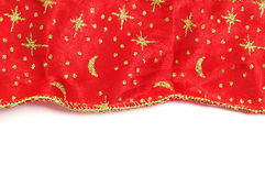 Christmas fabric Stock Image