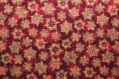 Christmas fabric background Stock Photos