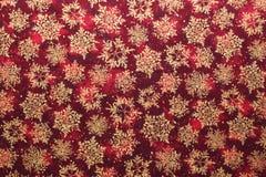 Christmas fabric background Stock Photos