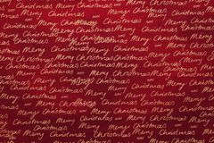 Christmas fabric background Stock Images