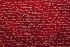 Christmas fabric background Stock Images