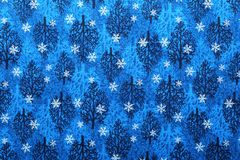 Christmas fabric background Stock Photo