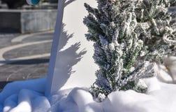 Christmas fair in Baku city Stock Photos