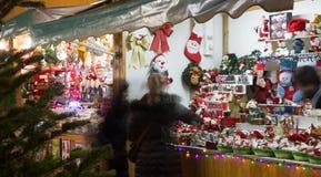 Christmas fair Royalty Free Stock Photo