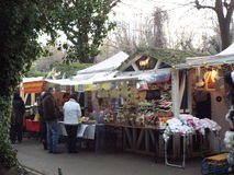 Christmas fair in Bucharest, Romania. Stock Images