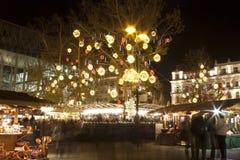 Christmas fair in Budapest Stock Photos