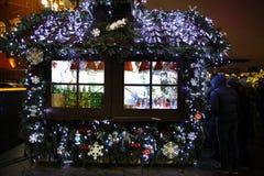 Christmas Fair Stock Image