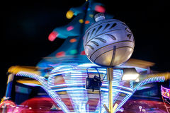 Christmas fair in Hyde park in 2016 Royalty Free Stock Photo