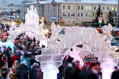 Christmas fair Royalty Free Stock Photography