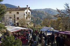 Free Christmas Fair In Espinelves, Spain Royalty Free Stock Images - 35807009