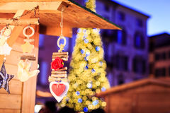 Christmas Fair in Italy Royalty Free Stock Image