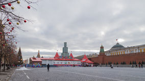 Christmas fair in Moscow Royalty Free Stock Photo