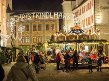 Christmas fair Rosenheim Royalty Free Stock Photography