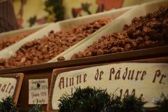 Christmas fair sweets Stock Photos
