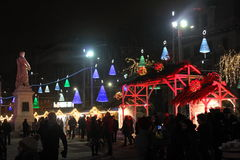 Christmas fair Royalty Free Stock Images