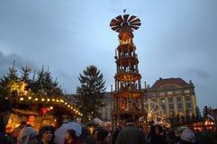 Christmas fairground Royalty Free Stock Photo