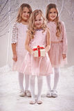 Christmas fairies Stock Images