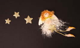 Christmas Fairy. Stock Photography
