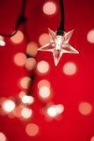 Christmas Fairy Lights Royalty Free Stock Images