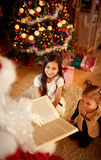 Christmas fairy tale Royalty Free Stock Image