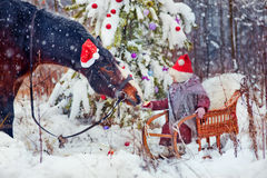 Christmas fairytale Stock Photo