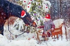 Christmas fairytale stock photo