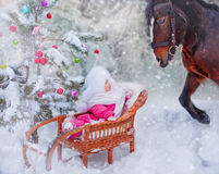 Christmas fairytale royalty free stock photo
