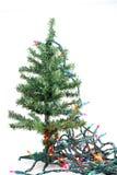 christmas fake tree Στοκ εικόνα με δικαίωμα ελεύθερης χρήσης