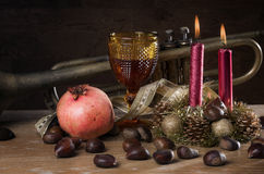 Christmas Fall Still-life Stock Images