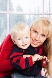 Christmas family Royalty Free Stock Photo